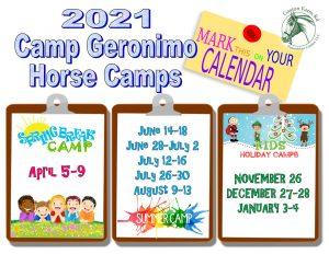 Camp Geronimo Horse Camp @ GFREC